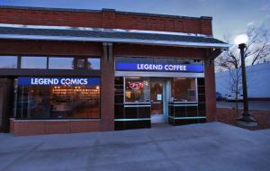 Legend Comics Outside