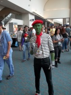 Beast Boy! Looking for love in all the Con places.